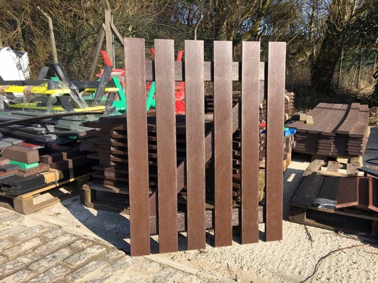Recycled Mixed Plastic Picket Gates | CLEARANCE | Various Sizes