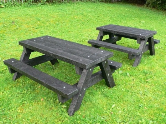 Recycled Plastic Junior Picnic Table | Ribble | Heavy Duty
