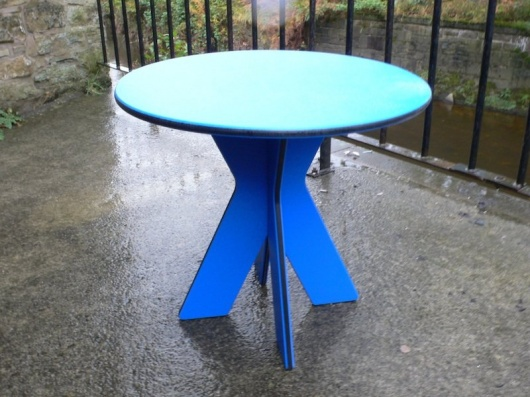 Yangtze Side Table - British Recycled Plastic