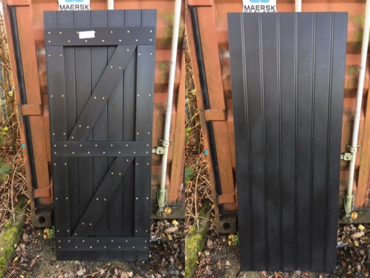 Recycled Plastic Back Gates - Various Sizes