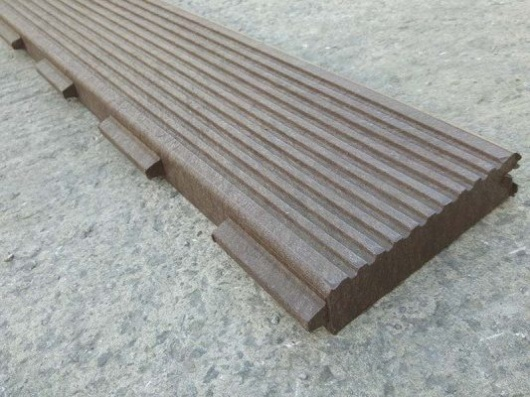 Recycled Mixed Plastic Footpath Planks | Reinforced | 197 x 40