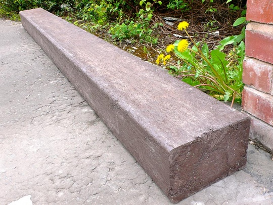 Recycled Mixed Plastic Beams | Sleepers 240 x 160mm