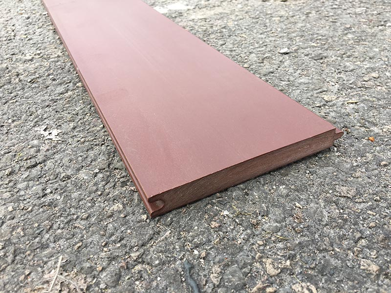 Recycled Plastic Synthetic Wood - Cladding T&G - 125 x 15mm