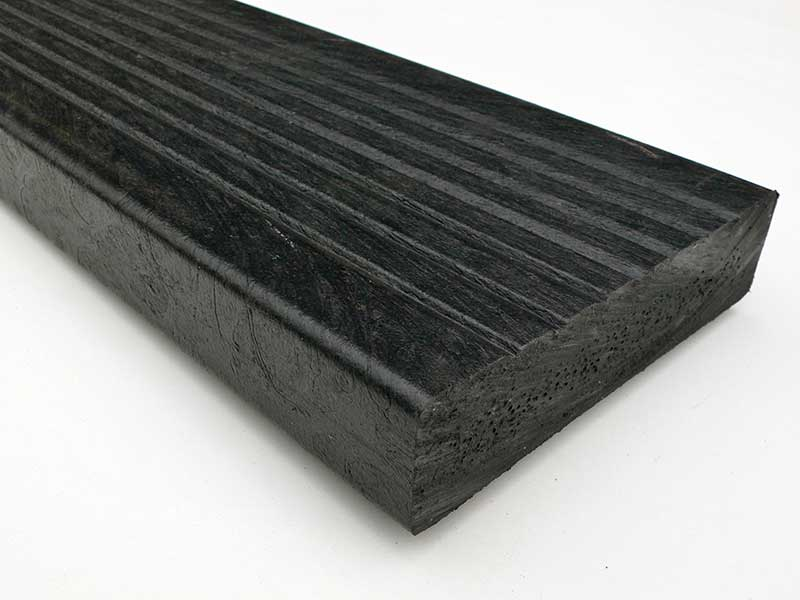 Recycled plastic decking composite wood material for Plastic composite decking