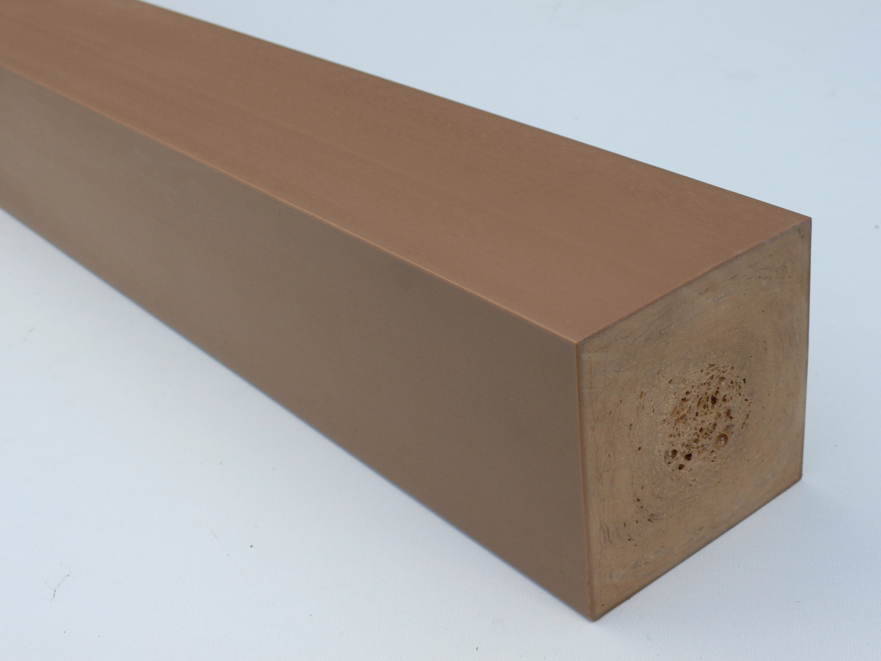 Recycled plastic wood 38 x 38mm for Reusable wood