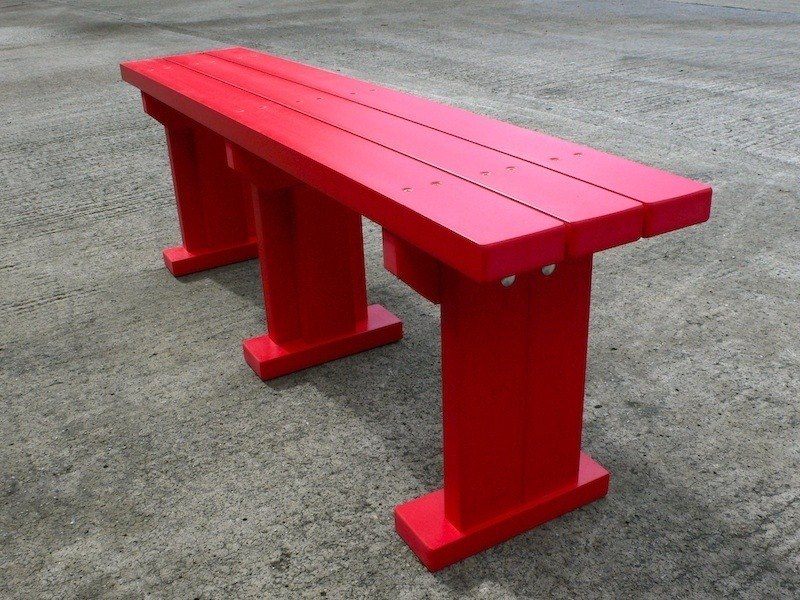 Recycled Plastic Bench/Seat | Derwent