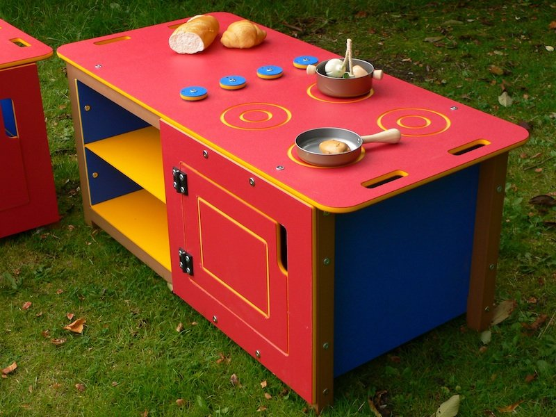 Outdoor Kitchen Play Cooker/Oven Unit | Double size | HDPE