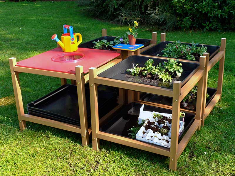 Children's Gardening Exploration Table - Set of 4 | Recycled Plastic