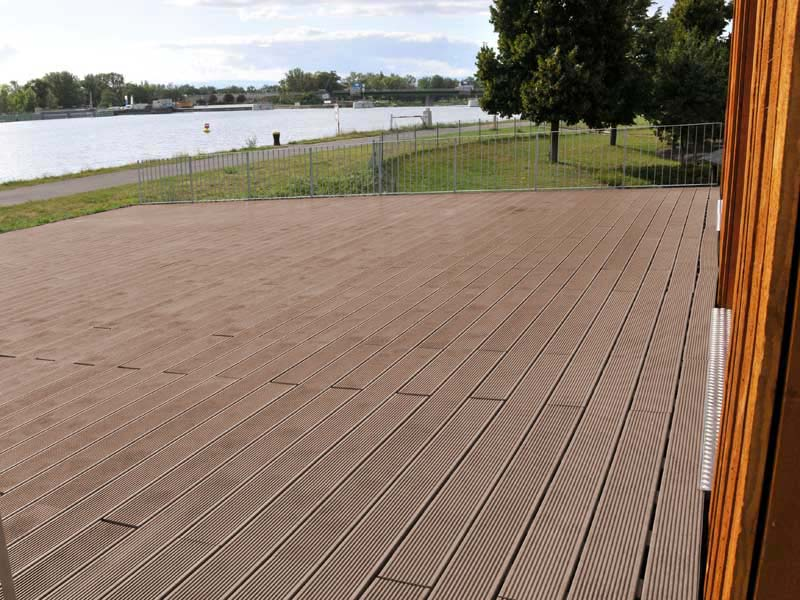 Recycled Mixed Plastic Footpath Planks | Reinforced | 170 x 40