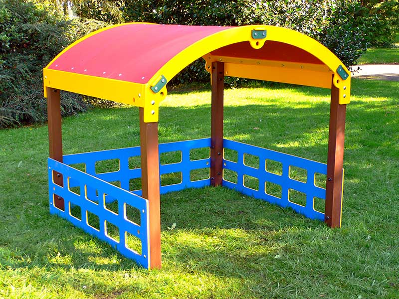 Children's Play House (Curved roof) | Play Den | Recycled Plastic