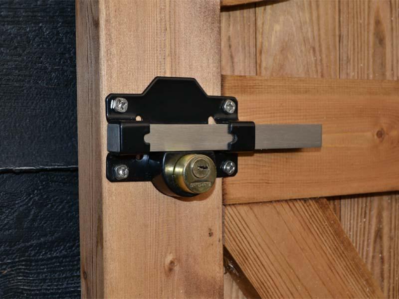50mm Premium Rimlock Double Locking Bolt